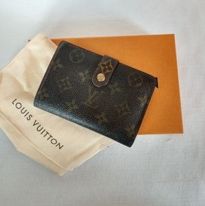Louis Vuitton Wallet With Box And Dust Bag